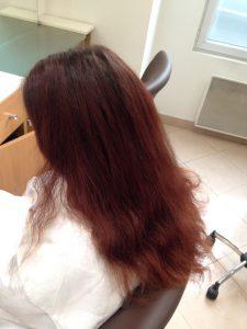 Cheveux Acajou